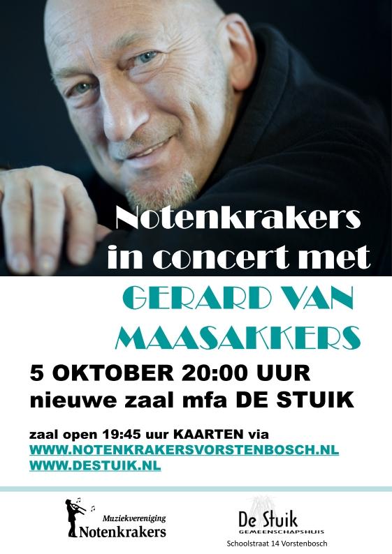 In concert met Gerard van Maasakkers