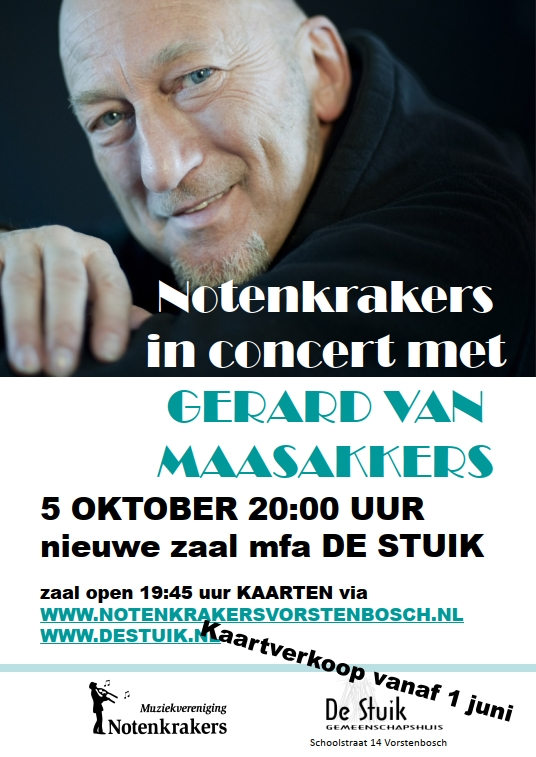 ..in concert met Gerard van Maasakkers